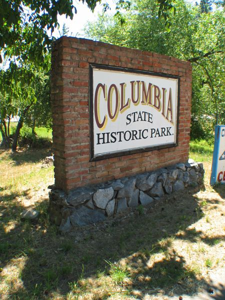 Welcome to Columbia State Historic Park, California