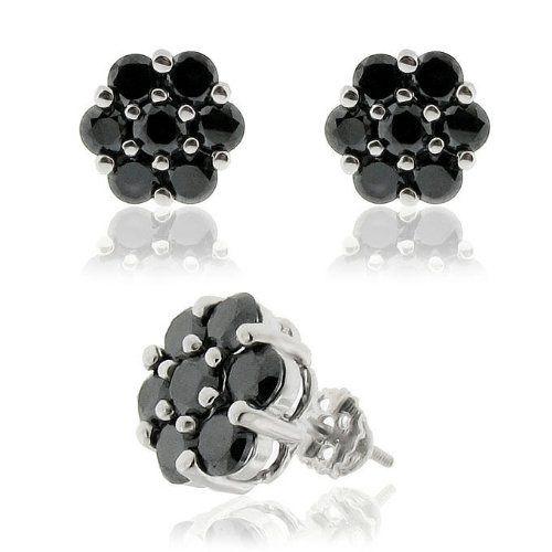 925 Sterling Silver 14k Gold Plated Black Cubic Zirconia Screw Back Flower Earrings Creamjewelrybest http://www.amazon.com/dp/B0081RLMP6/ref=cm_sw_r_pi_dp_TSUUub0SB16RG
