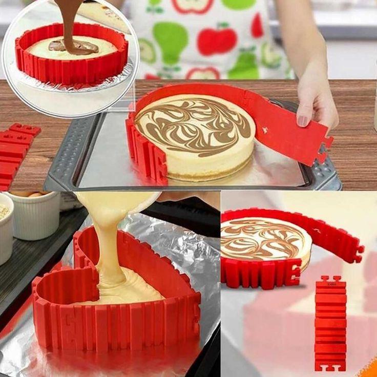 Inter-Connecting  Cake Mold - Bake That FIDGE!