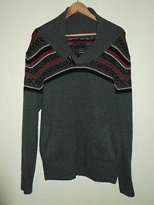 BRAVE SOUL New Soul Edition Men's Striped Jumper Sweater Size Large