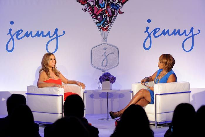 Jenny Craig: Looking to raise its profile, weight-control brand Jenny Craig partnered with Mariah Carey, and launched a new image and new relationship with the American Heart Association in 2011. To tout these announcements, the brand hosted a New York press conference in which Gayle King interviewed Carey in a one-on-one discussion, an element that was streamed live to the Web via Ustream.