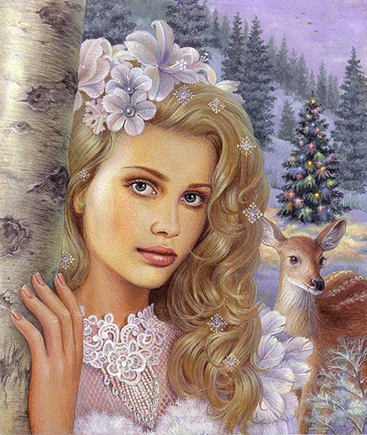 Картинка красивой девушки из сказки