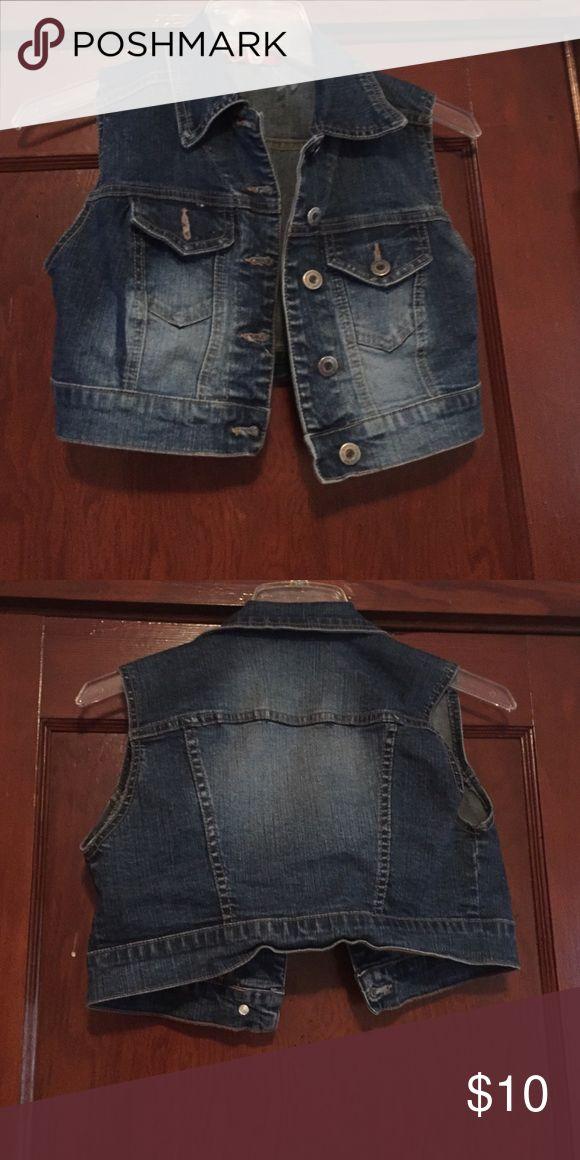 Women's denim Jean half vest Women's denim Jean half vest . Two pockets and buttons to close Jackets & Coats Vests