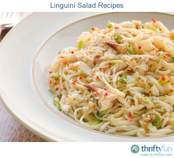 This page contains linguini salad recipes. Linguini is an excellent pasta choice when making a pasta salad.