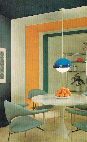 Mer enn 25 bra ideer om Küche 70er stil på Pinterest