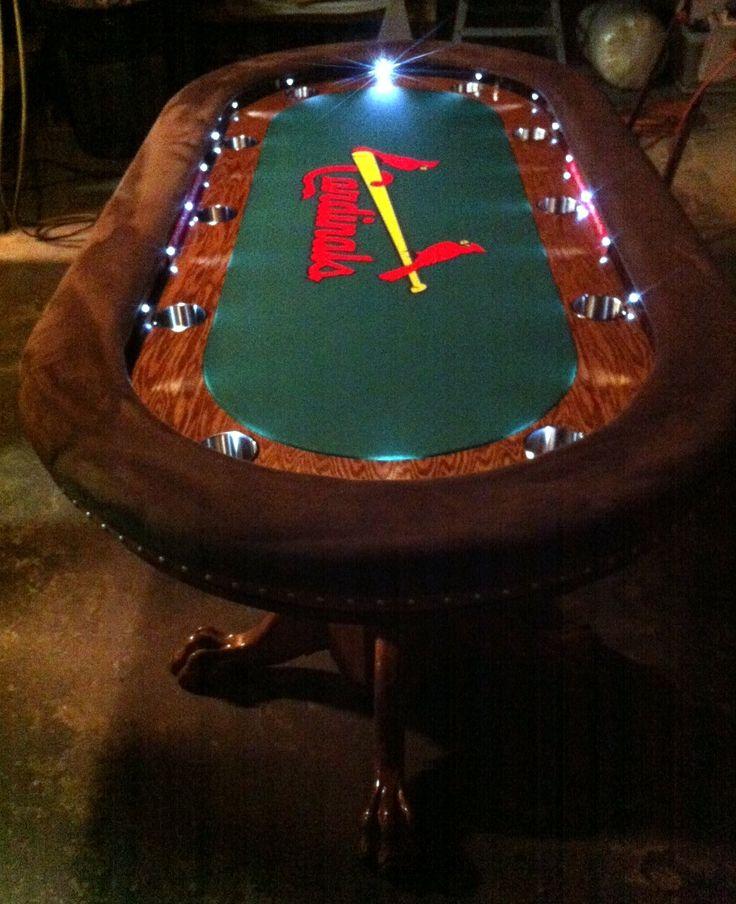 Bright Led 39 S Custom Felt Oversized Arm Rests Poker