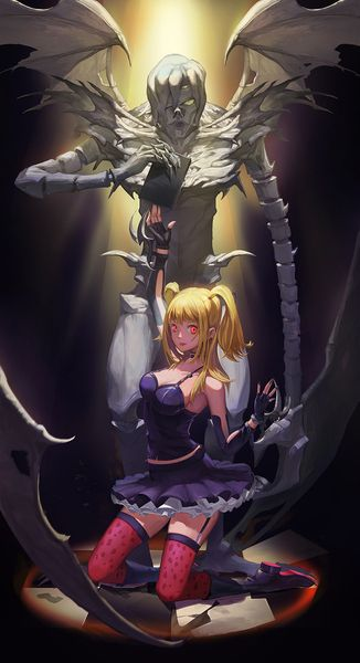 Misa & Rem  - Death Note
