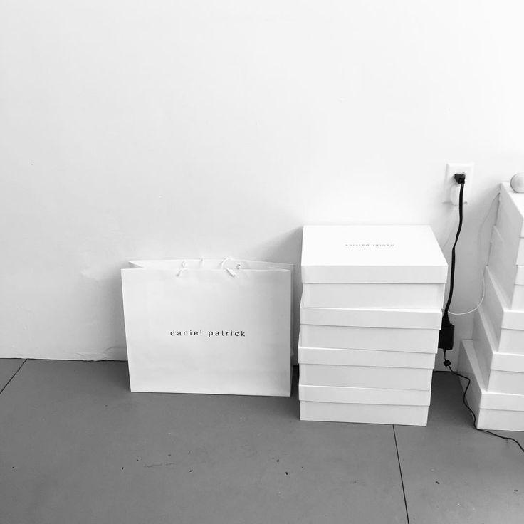 new shopping bags // #danielpatrick #losangeles