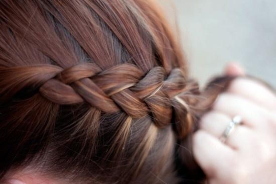 Katniss braid - pretty much a Dutch braid, wonder if itll work with my short hair.: French Braids, Hair Ideas, Hairstyles, Hair Styles, Makeup, Hair Tutorial, Dutch Braids, Beauty