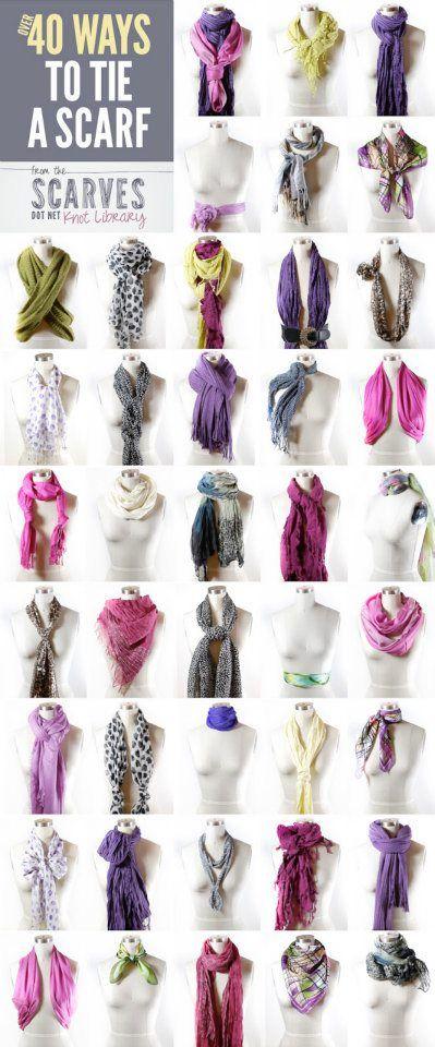 OLTRE 40 MODI PER INDOSSARE UNA SCIARPA .. - Essential & FashionThe Essential & Fashion