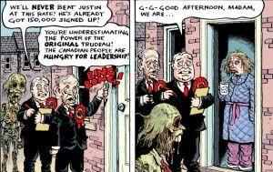 Zombie Trudeau #2: Door to Door Canvassing - riotwire