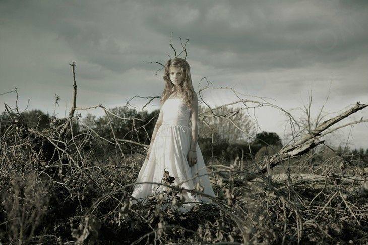"""""""L'Hiver"""", 2012 - série Allégories © ceciledecorniquet.com"""