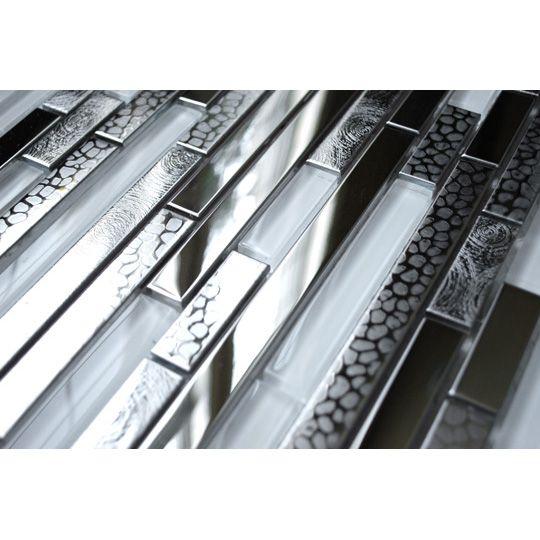 Stainless Steel Tiles For A Modern Backsplash Modern