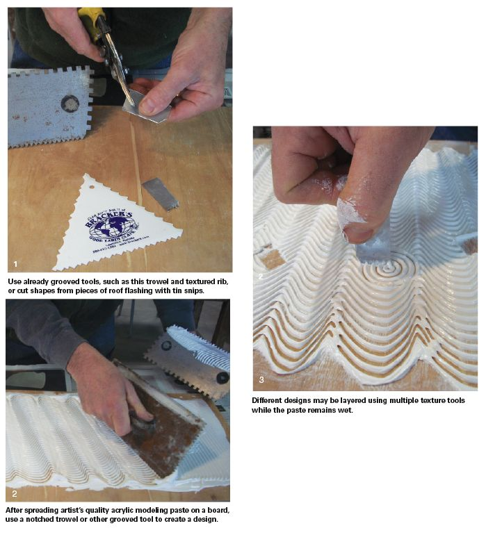 Make your own texture board