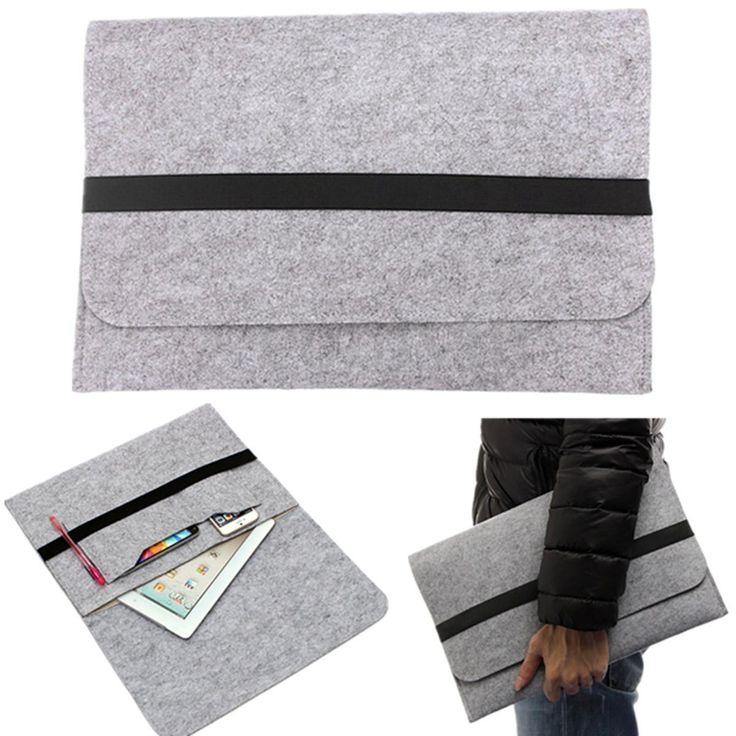 Schutzhülle Tasche Case Tablet Wolle Filz für Apple MacBook Air 13.3 Zoll Laptop in Computer, Tablets & Netzwerk, Notebook- & Desktop-Zubehör, Notebook-Koffer & -Taschen   eBay!