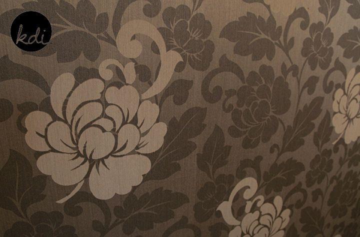 Modern floral wallpaper print | For the Home | Pinterest