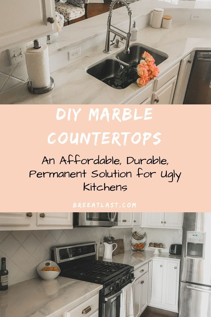 Diy Marble Countertops Marble Countertops Replacing Kitchen