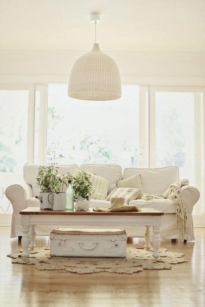 Mer enn 25 bra ideer om Wohnzimmer Gemütlich på Pinterest Big - wohnzimmer in landhausstil