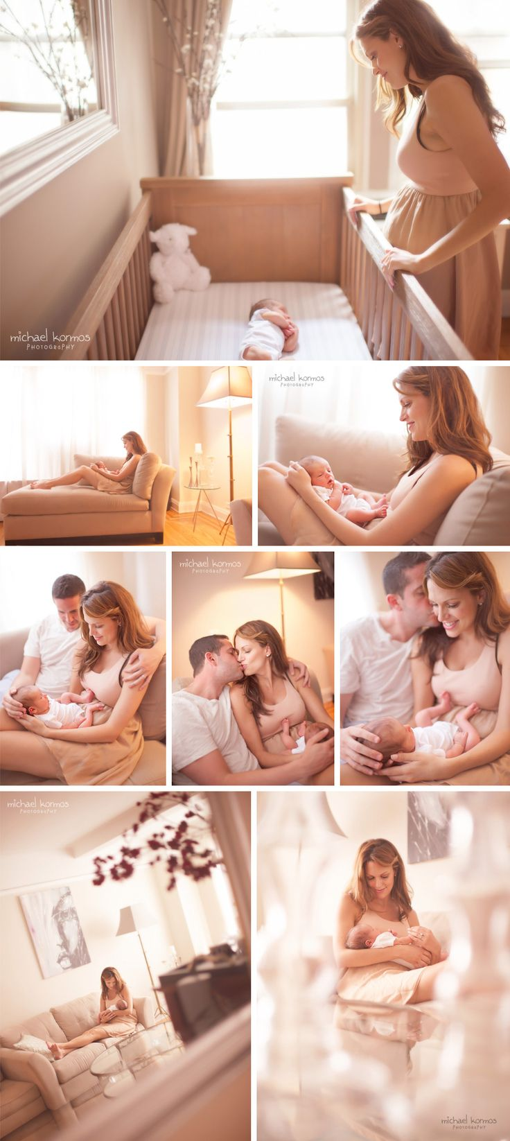 "Newborn ""at home"" photography."