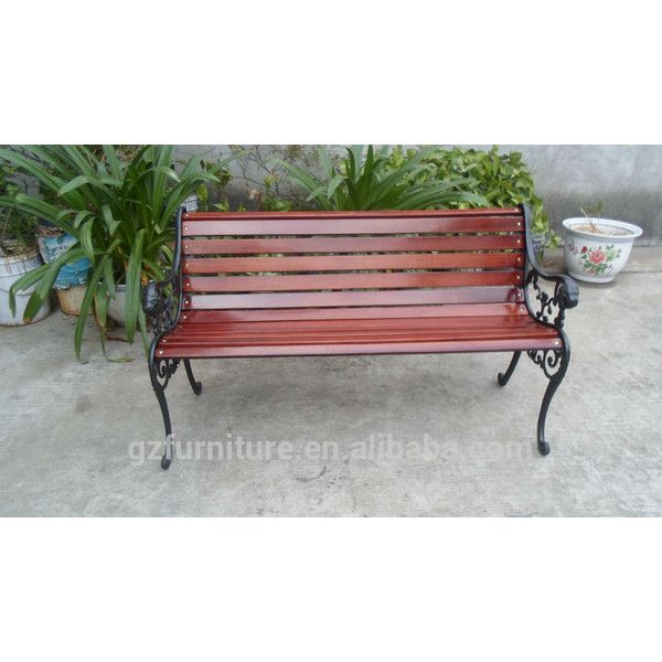 cast iron garden bench part u20ac23 liked on polyvore featuring home outdoors patio furniture outdoor benches cast iron garden bench cast iron garden - Cast Iron Patio Furniture