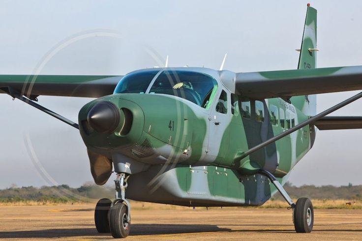 O Cessna Caravan voa com a FAB desde o final dos anos 1980 (FAB)
