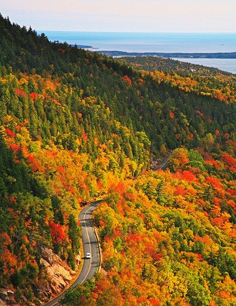 The 15 Best American Fall Foliage Road Trips and Routes Photos | Architectural Digest