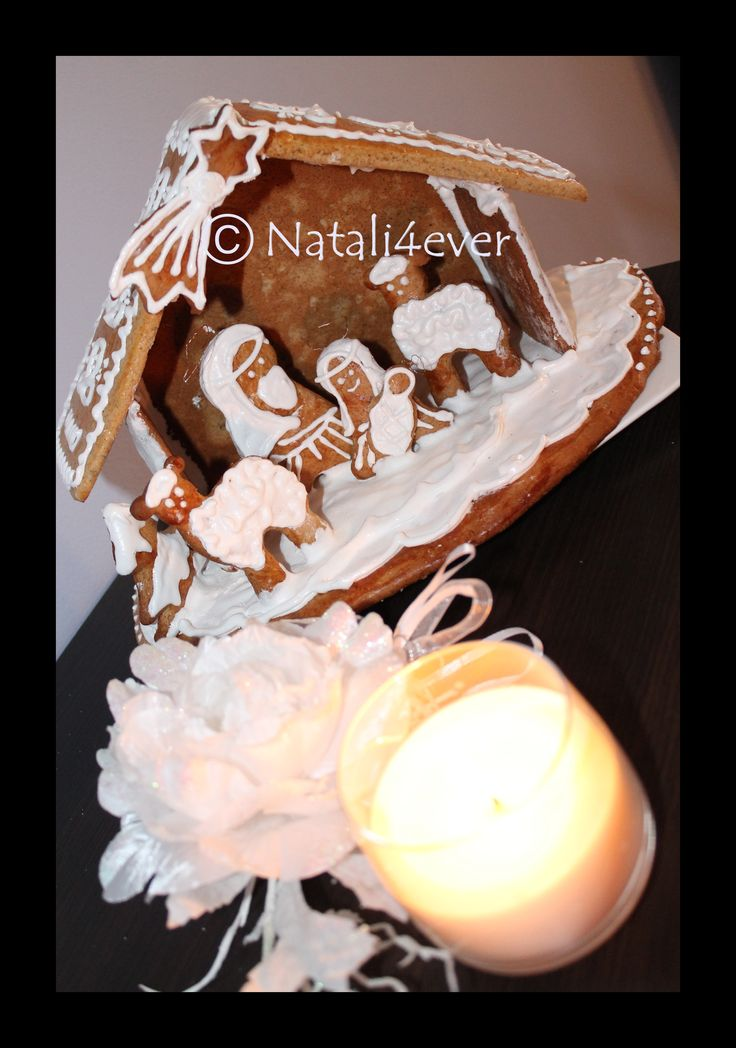 Gingerbread Betlehem created with my daughter