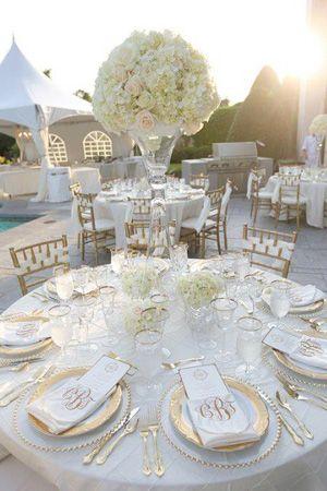 gold and white wedding reception decor brides of adelaide magazine