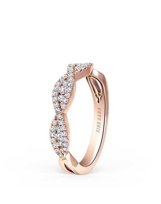 Kirk Kara Pirouetta Collection K199R-B Rose Gold Wedding Ring