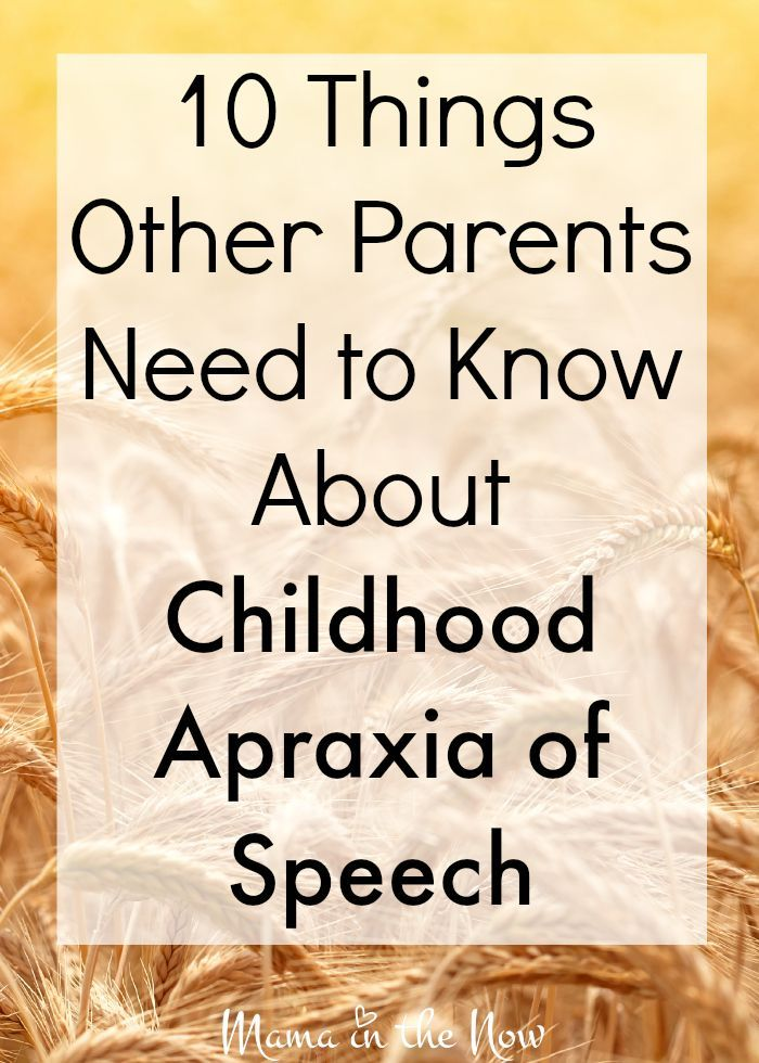 17 Apraxia resources for concerned parents -