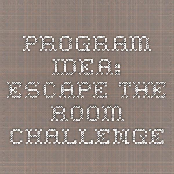 18 Best Escape Room Game Diy Images On Pinterest