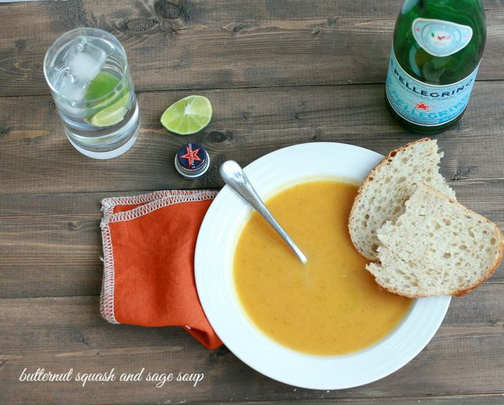 butternut squash and sage soup | Yummy Noms | Pinterest
