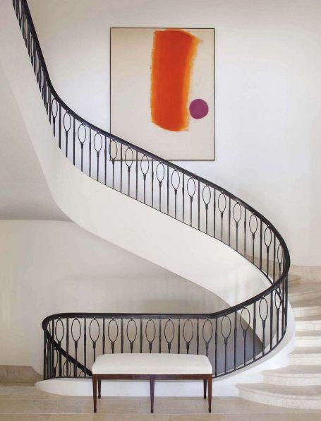 the stair: Spirals Stairca, Stan Topol, Design Interiors, Staircase, Interiors Design, Stairs Design, Art Deco, Iron, Stairways
