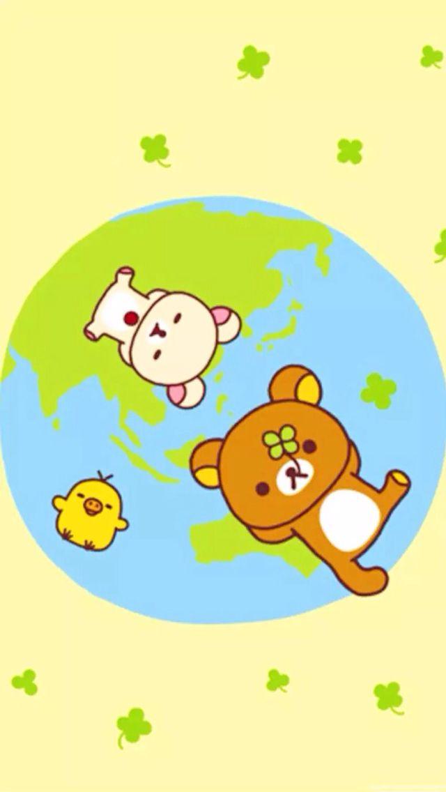 Rilakkuma Dibujos kawaii, Gatos kawaii, Kawaii