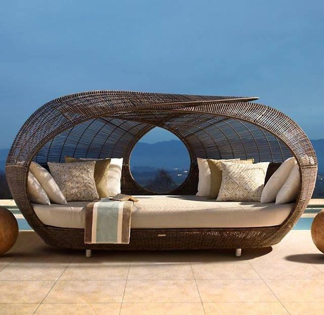 Spartan Daybed By Neoteric Luxury   Contemporary   Patio Furniture And Outdoor  Furniture   Restoration Hardware