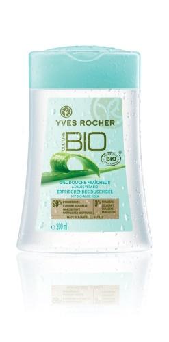 Reveal the cool fresh, moisturizing cleansing of Organic Aloe Vera from Mexico with the Fresh Shower Gel with Organic Aloe Vera! Ce gel douche vous permet de découvrir toute la fraîcheur et l'hydratation que l'Aloe Vera du Mexique a à offrir sous la douche.