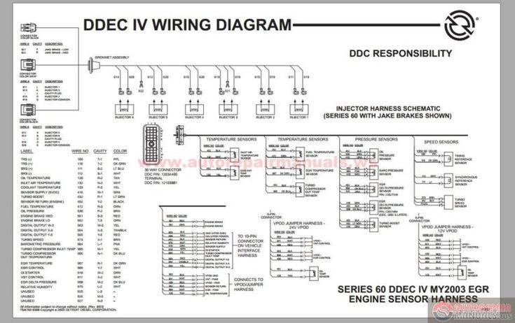 Detroit Diesel Series 60 Ddec Iv Wiring Diagram On Detroit Diesel Series 60 Ecm Wiring