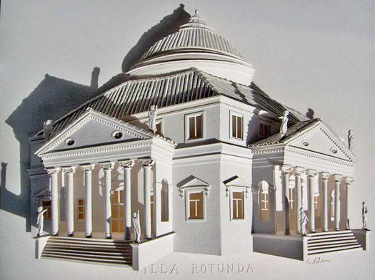 Вилла Ротонда архитектора Андреа Палладио (Виченца, Италия)