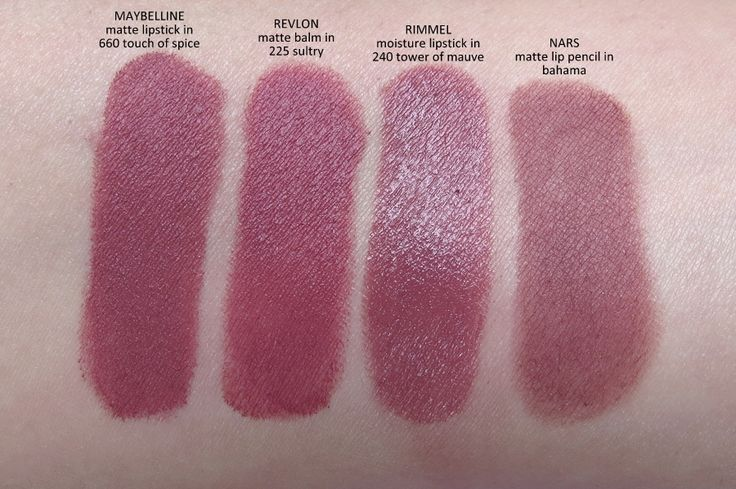 maybelline creamy sensational matte lipstick in touch of spice comparisons