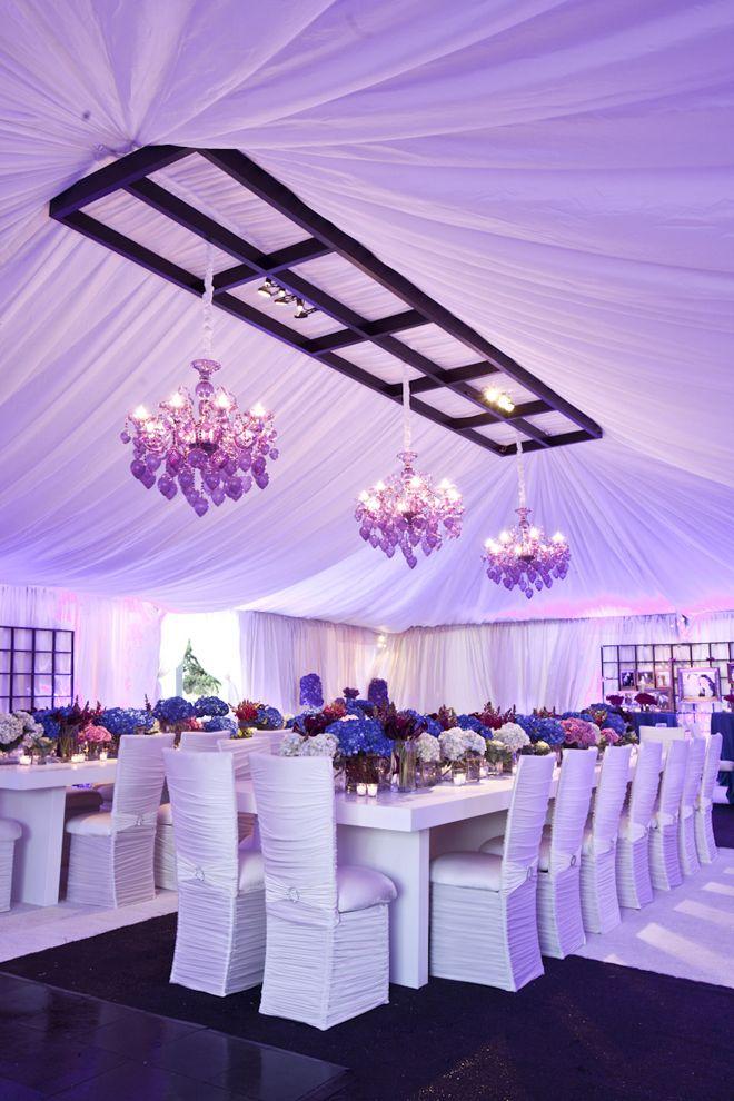 Long Tables Wedding Receptions