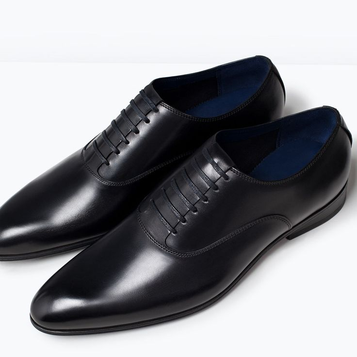 FORMAL LEATHER OXFORD SHOE-Shoes-Shoes-MAN | ZARA Turkey