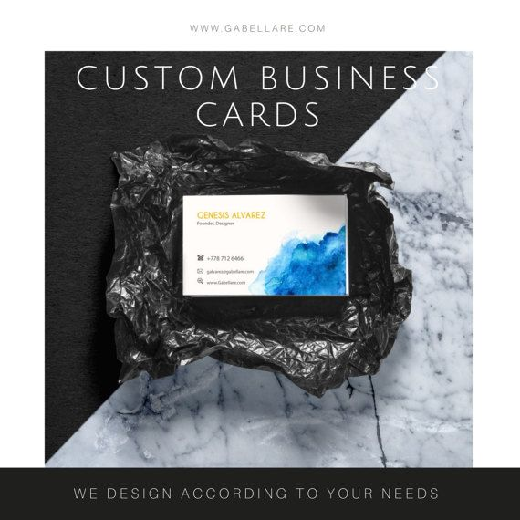 CUSTOM BUSINESS CARD DESIGN  Create your own product, that represents your brand. All products are designed with the best quality image and design, always keeping your brand and your need in mind.
