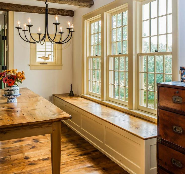 Bench Seating In Front Of Kitchen Windows Use Different: 17 Best Images About House Windows