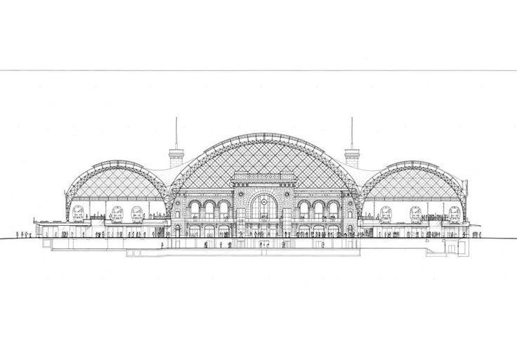 Dresden Station Redevelopment   Foster + Partners