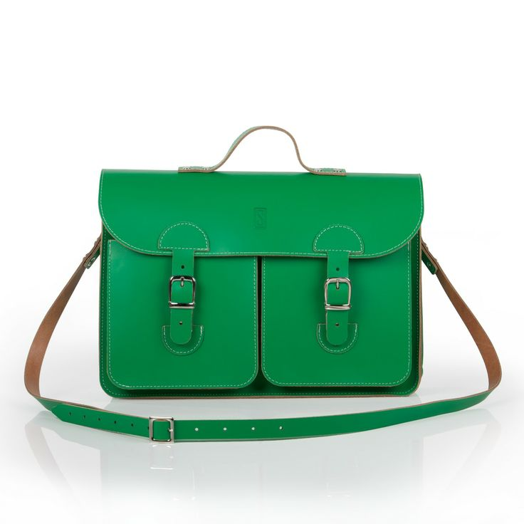 Oldschool Bags- Medium Iers groen. Verkrijgbaar bij www.bornidentity.nl