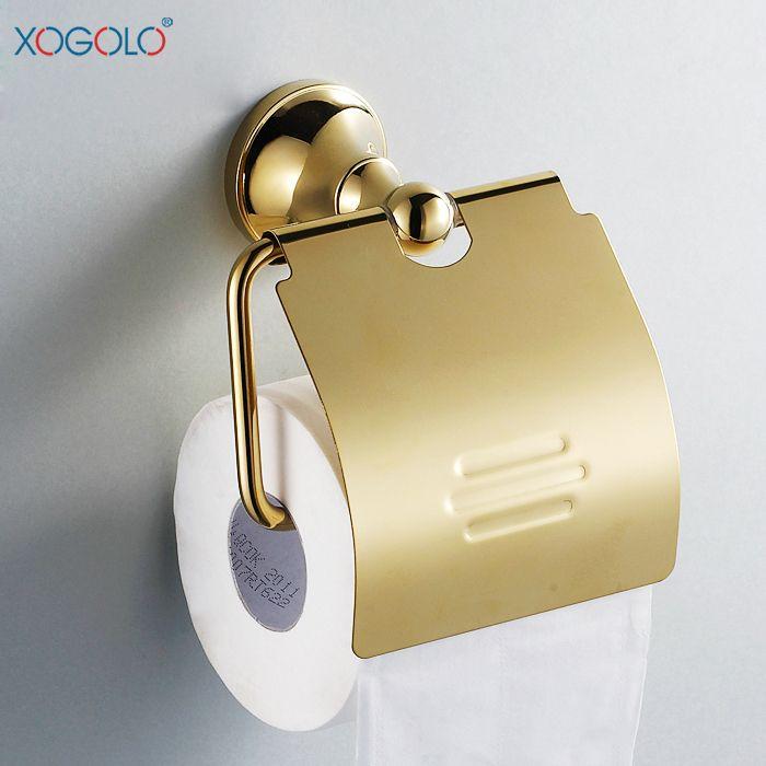 Купить товарXogolo ванной вешалка для полотенец континентальный золотой держатель туалетной бумаги держатель туалетной бумаги туалетной бумаги перемотки 2251 в категории Держатели бумагина AliExpress.