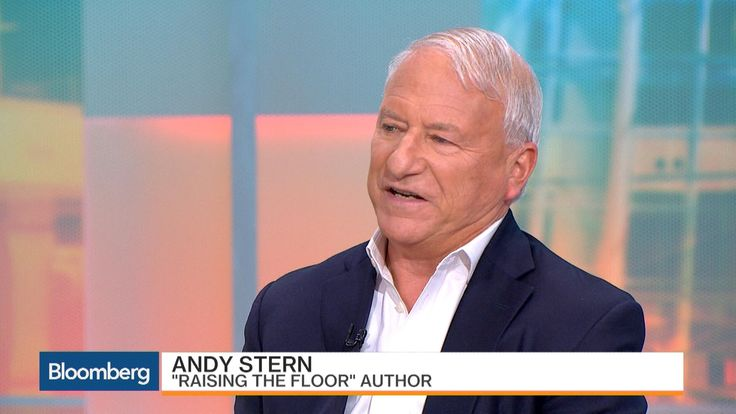 """Andy Stern, author of """"Raising the Floor"""" and former president of the Service Employees International Union (SEIU), makes the case for universal basic income. He speaks with Bloomberg's Joe Weisenthal and Scarlet Fu on """"What'd You Miss?"""" (Source: Bloomberg)"""