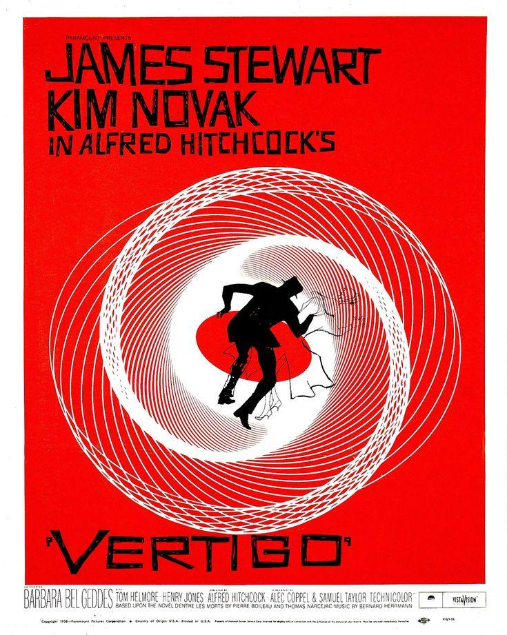 『めまい』(1958、アルフレッド・ヒッチコック監督)