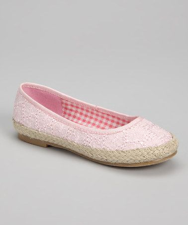 Pink Bambi Ballet Flat by Jilly Beans #zulily #zulilyfinds