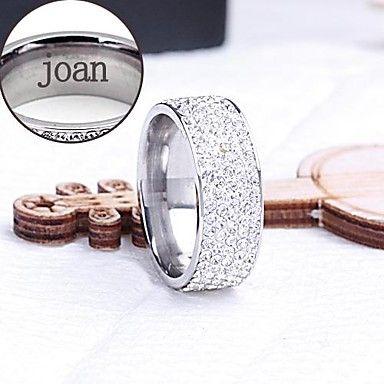 gepersonaliseerde+gift+ring+roestvrij+staal+gegraveerd+sieraden+–+EUR+€+5.87
